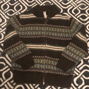 Gymboree boys size 4 sweater with zipper.